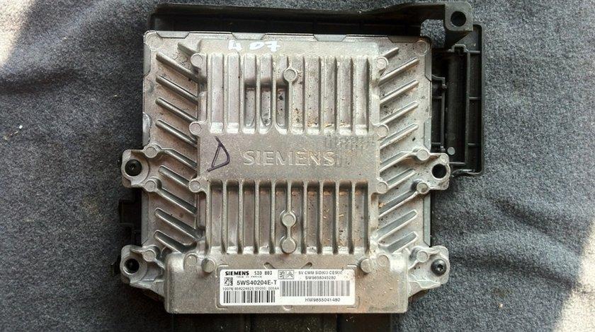 Ecu Peugeot 407 2 0 Hdi Rhr Cod 9658345280 5ws40204e T