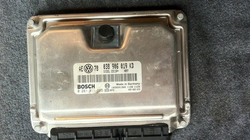 Ecu Vw Passat B5 1 9 Tdi Avf Cod 038910609kd 0281011205