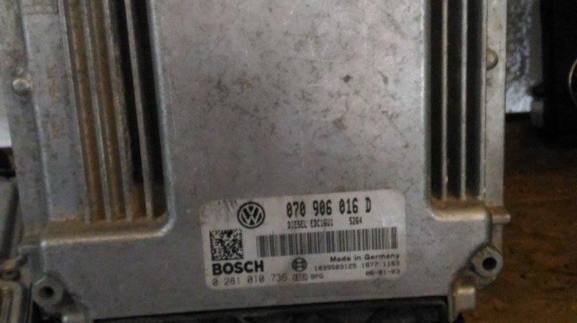 ECU VW TOUAREG 5.0 tdi 070906016D