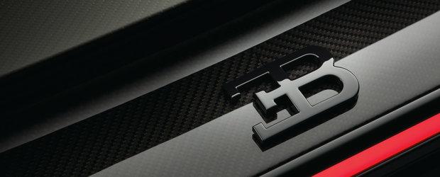 Editie limitata pentru bogatii lumii. Bugatti Chiron primeste doua versiuni speciale Noire