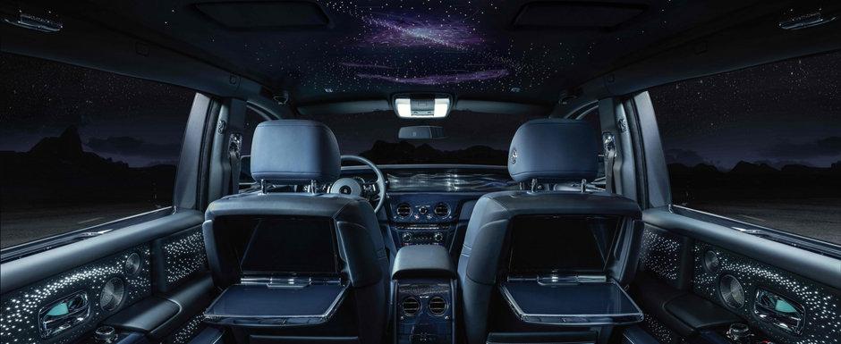 Editie speciala pentru Rolls-Royce Phantom. Numai 20 de clienti, pasionati de astronomie, vor putea avea unul