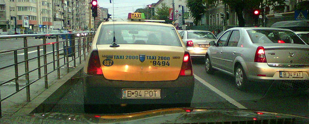 Editorial: B 94 POT, Loganul de TAXI care defineste perfect taximetria