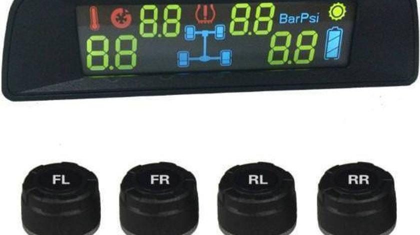 Edotec EDT-TPMS06 Sistem de monitorizare a presiunii in pneuri cu incarcare solara