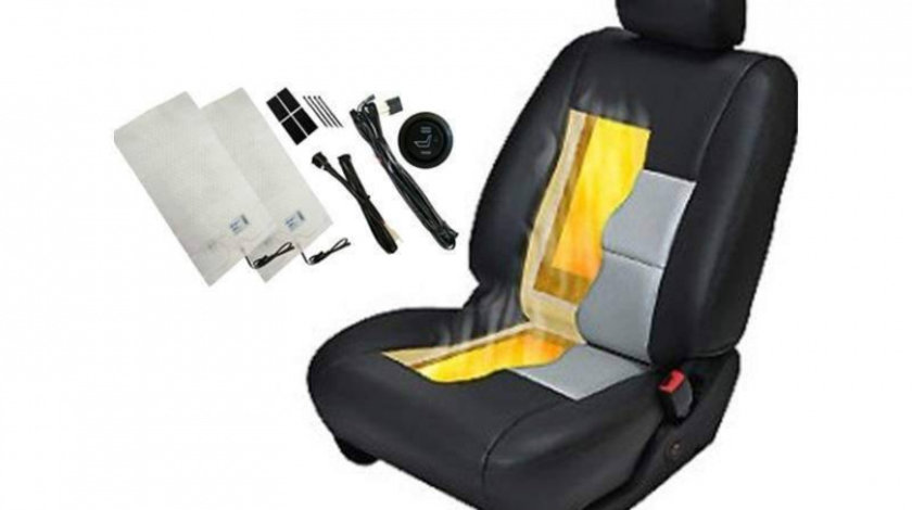 EDT-IS300 kit incalzire scaune auto pentru un scaun RGB