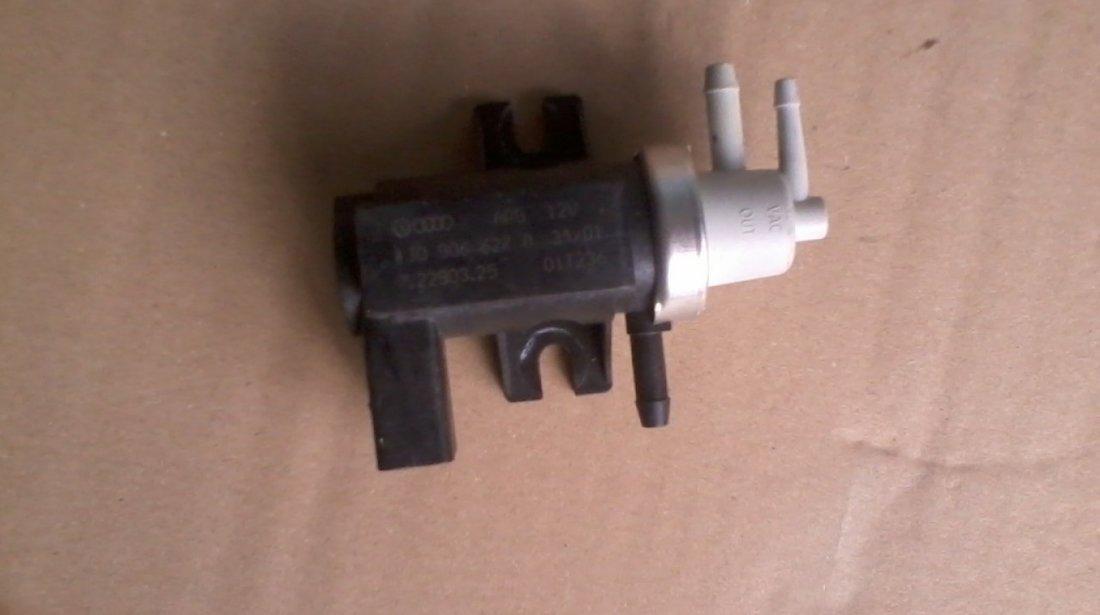 EGR Electrovalva vacuum, Supapa presiune turbina Audi Seat Skoda VW cod 1J0906627A