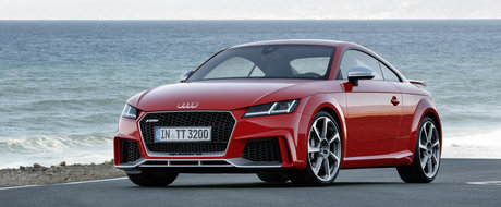 El e noul Audi TT-RS. Si promite sa te dea pe spate cu performantele sale!