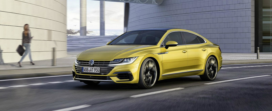El este Arteon, coupe-ul in 4 usi de la Volkswagen care a starnit atatea controverse
