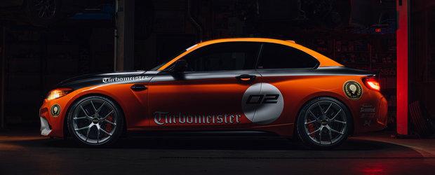 El este M2-ul CSL pe care BMW nu vrea sa-l lanseze. POZE cu masina de 520 CP si look retro