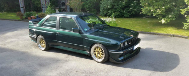 El este M3-ul (E30) pe care ti-l doresti. Are un motor I6 turbo si o cutie manuala in sase trepte