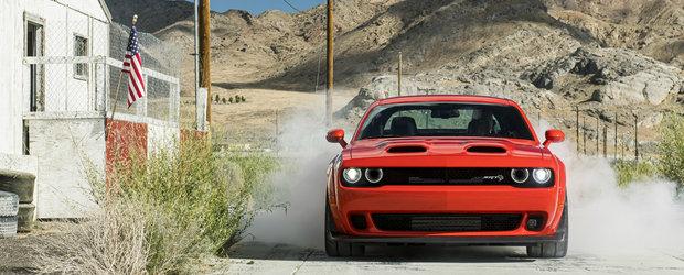 El este noul Dodge Challenger SRT Super Stock. Cati CP are cel mai puternic si rapid muscle car din lume
