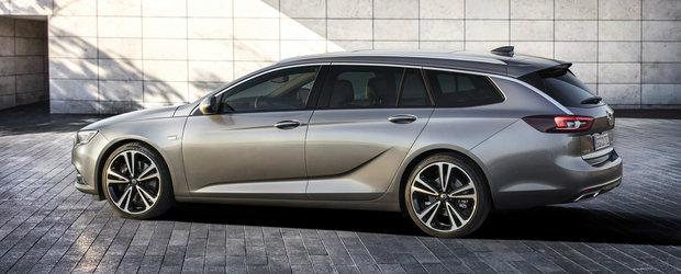 El este noul Opel Insignia Sports Tourer. Primele imagini cu break-ul german