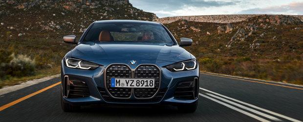 El este noul, si controversatul, BMW Seria 4. Cea mai puternica versiune are 374 CP