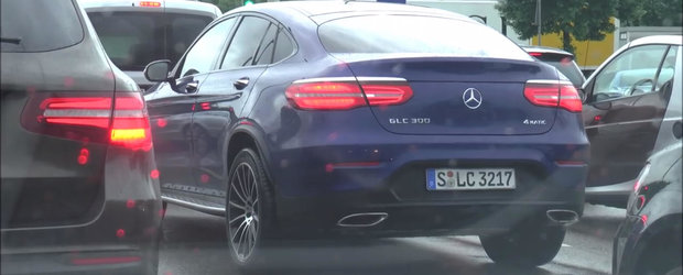 El este rivalul lui BMW X4. Uite cum arata in realitate noul Mercedes GLC Coupe