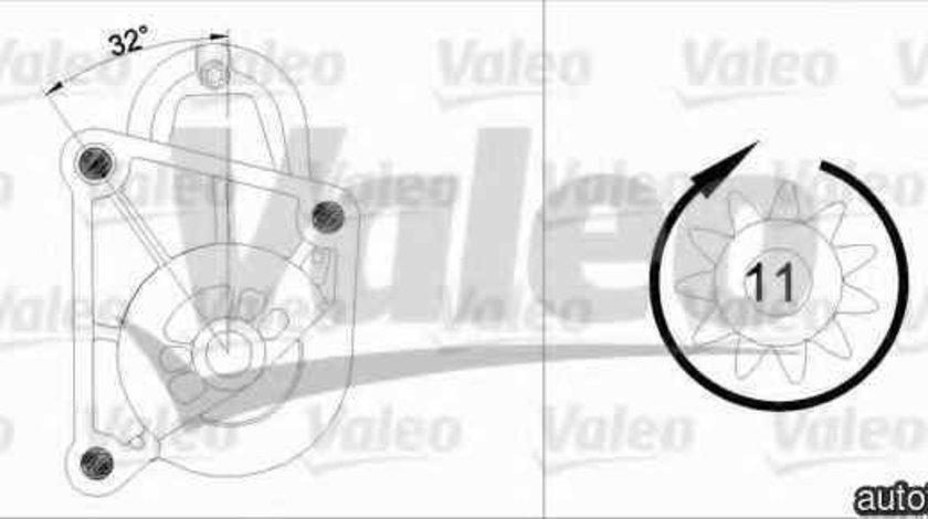 Electromotor ARO 10 VALEO 455936
