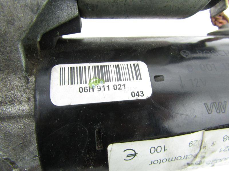 Electromotor Audi A4 B8 8K / A5 8T / Q5 8R - 2.0 TFSI - Cod: 06H911021