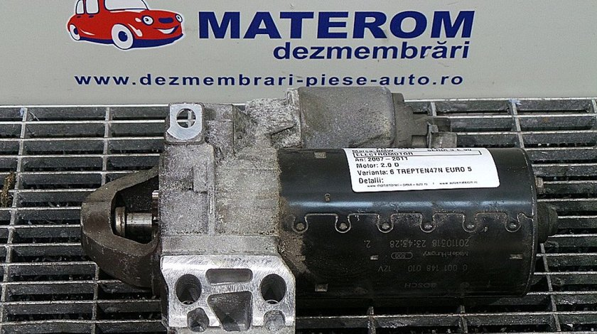 ELECTROMOTOR BMW 3 (E90) 318 d diesel (2004 - 02-2011-12)