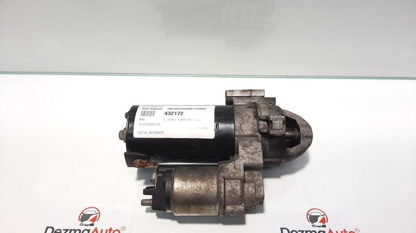 Electromotor, Bmw 3 (E90) [Fabr 2005-2011] 2.0 diesel, 7801203-03, 0001115069, cutie automata (id:432172)