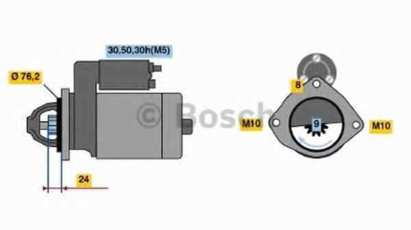 Electromotor BMW 5 E39 BOSCH 0 986 019 980