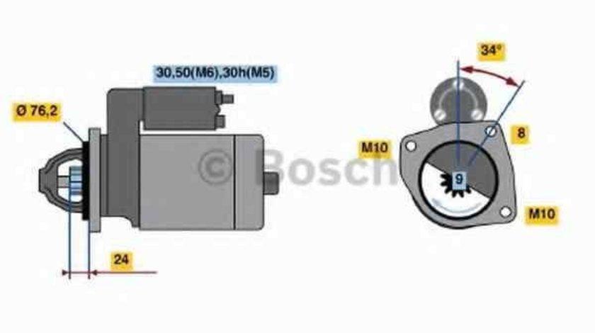 Electromotor BMW Z3 (E36) BOSCH 0 001 107 442