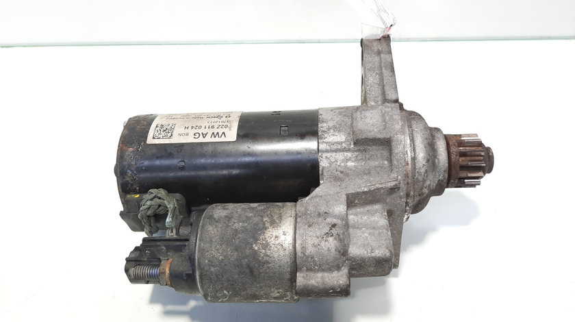 Electromotor cu Start-Stop, cod 02Z911024H, Audi A3 Cabriolet (8P7), 1.6 TDI, CAYC, 5 vit man (idi:476926)