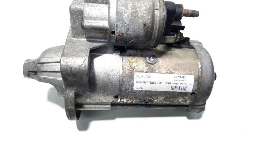 Electromotor cu Start-Stop, cod AV6N-11000-GB, Ford Focus 3, 1.6 TDCI, T1DA, 5 vit man (id:469352)