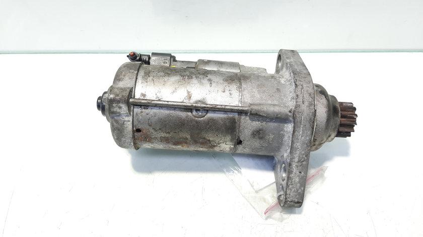 Electromotor cu Start-Stop Valeo, cod 02Z911024A, Vw Golf 6 (5K1) 1.6 TDI, CAY, 5 vit man (id:469125)