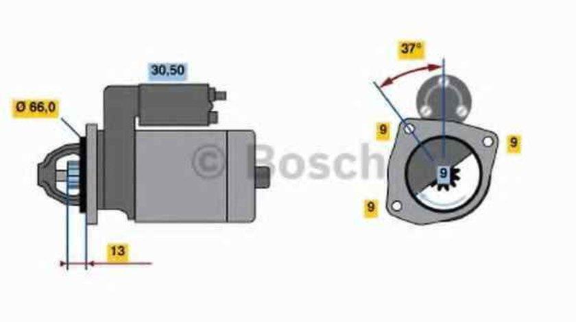 Electromotor LANCIA DELTA II 836 BOSCH 0 986 017 770