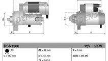 Electromotor LAND ROVER FREELANDER 2 FA DENSO DSN1...