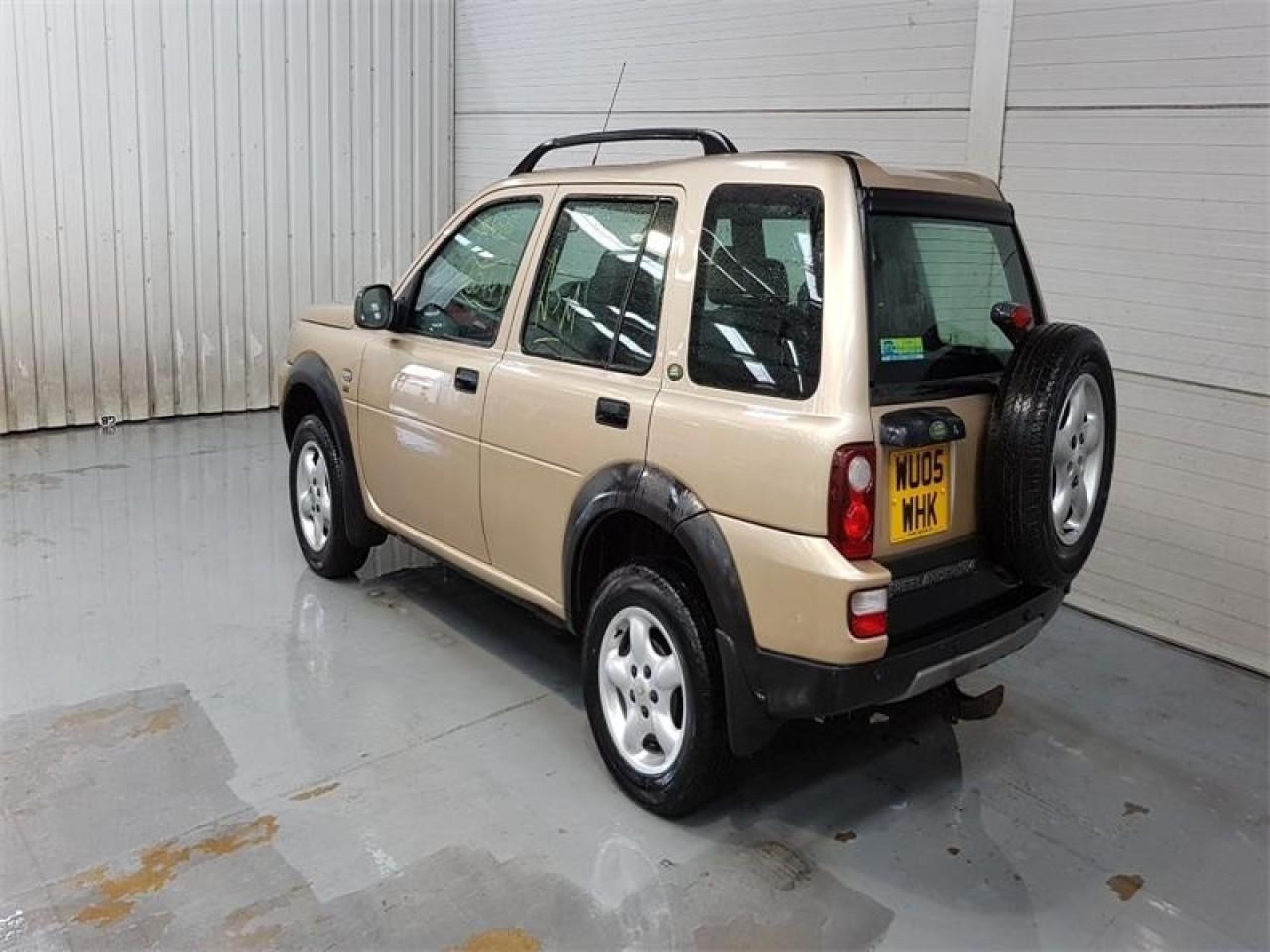 Electromotor Land Rover Freelander 2005 SUV 2.0 D