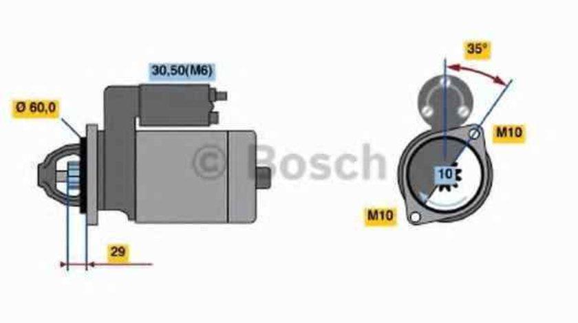 Electromotor MERCEDES-BENZ CLS Shooting Brake (X218) BOSCH 0 986 021 330