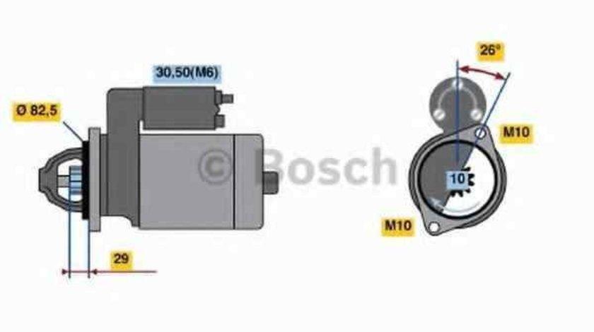 Electromotor MERCEDES-BENZ M-CLASS (W163) BOSCH 0 986 018 270