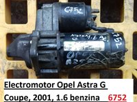 Electromotor Opel Astra G Coupe