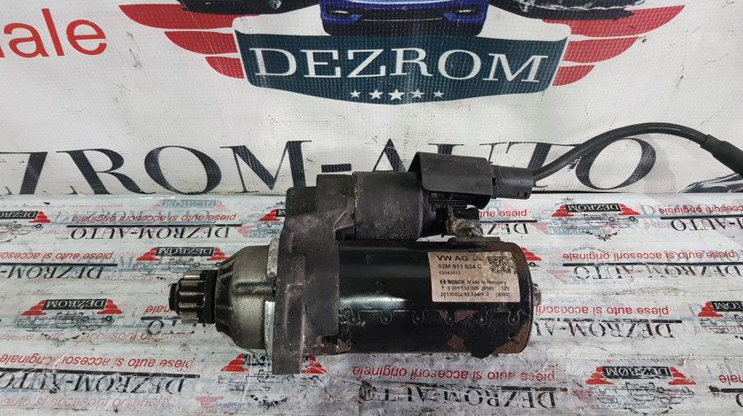 Electromotor original (cutie manuala start-stop) VW Passat CC 2.0 TDi 136/140/170cp cod : 02M911024C