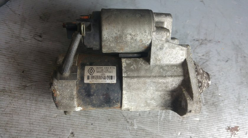 Electromotor renault clio 3 kangoo dacia logan 1.5 dci k9k 2005-2017 68cp 8200584675