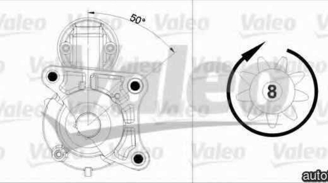 Electromotor RENAULT CLIO II BB0/1/2 CB0/1/2 VALEO 458179
