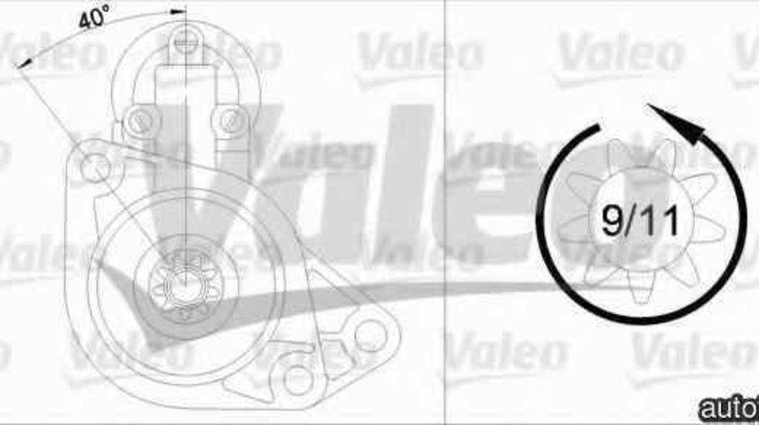 Electromotor SEAT TOLEDO I 1L VALEO 455930