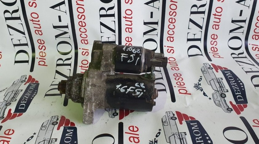 Electromotor Skoda Fabia II 1.2i 60/70cp cod piesa : 02T911023R