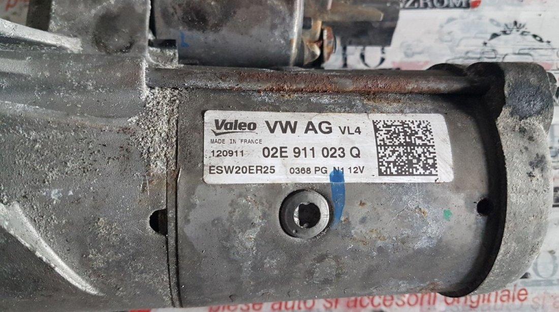 Electromotor Valeo vw passat cc 2.0 tdi cfgc 177 cai 02E911023Q