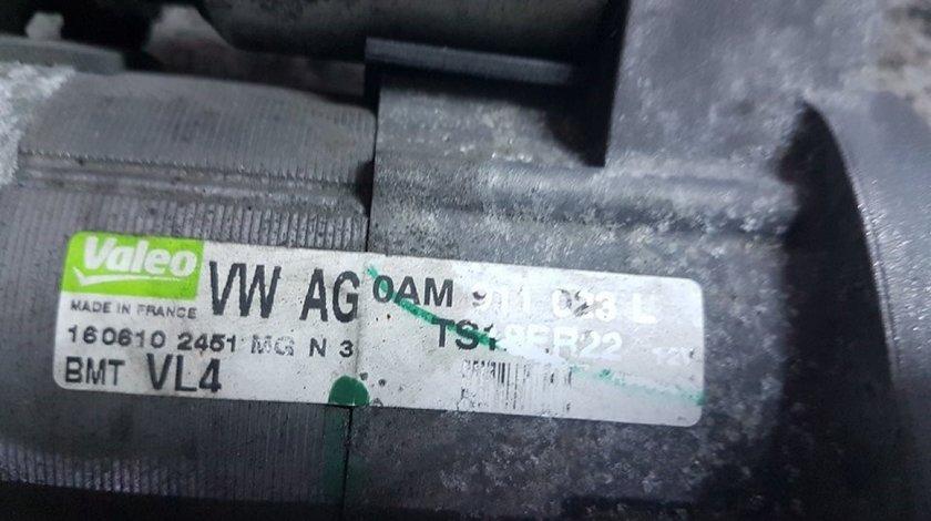 Electromotor valoe 0AM911023L audi a3 8p 1.6 tdi cayc 105 cai cutie dsg 7