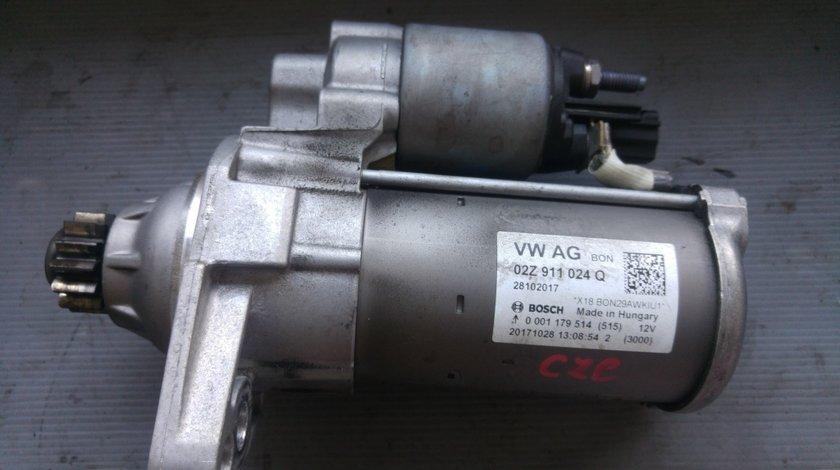 Electromotor vw golf 7 audi a3 8v 1.4 tsi czc 02z911024q