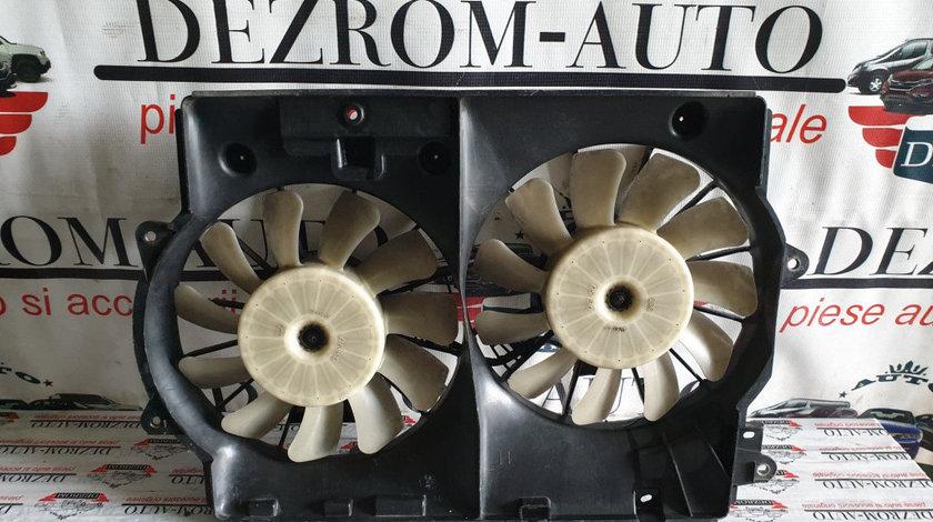 Electroventilatoare originale cu suport LEXUS IS 220D 177 cai cod piesa : 168000-4970