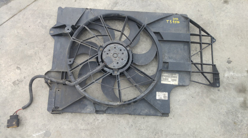 Electroventilator 1.9 tdi vw transporter t5 2003-2010 7h0121207