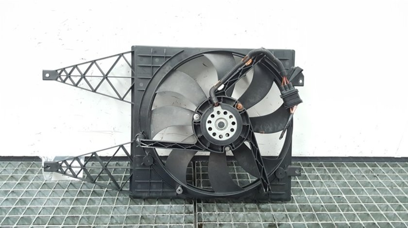 Electroventilator, 6Q0121207N, Skoda Fabia 2 (facelift) 1.4tdi din dezmembrari