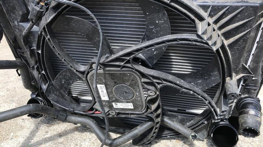 Electroventilator cu suport BMW Seria 3 E90 Facelift 2009 2010 2011