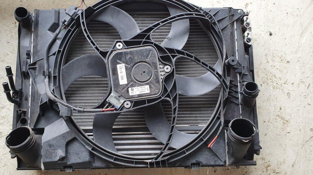 Electroventilator cu suport BMW X1 E84 2.0D 2011 2012 2013 2014 2015