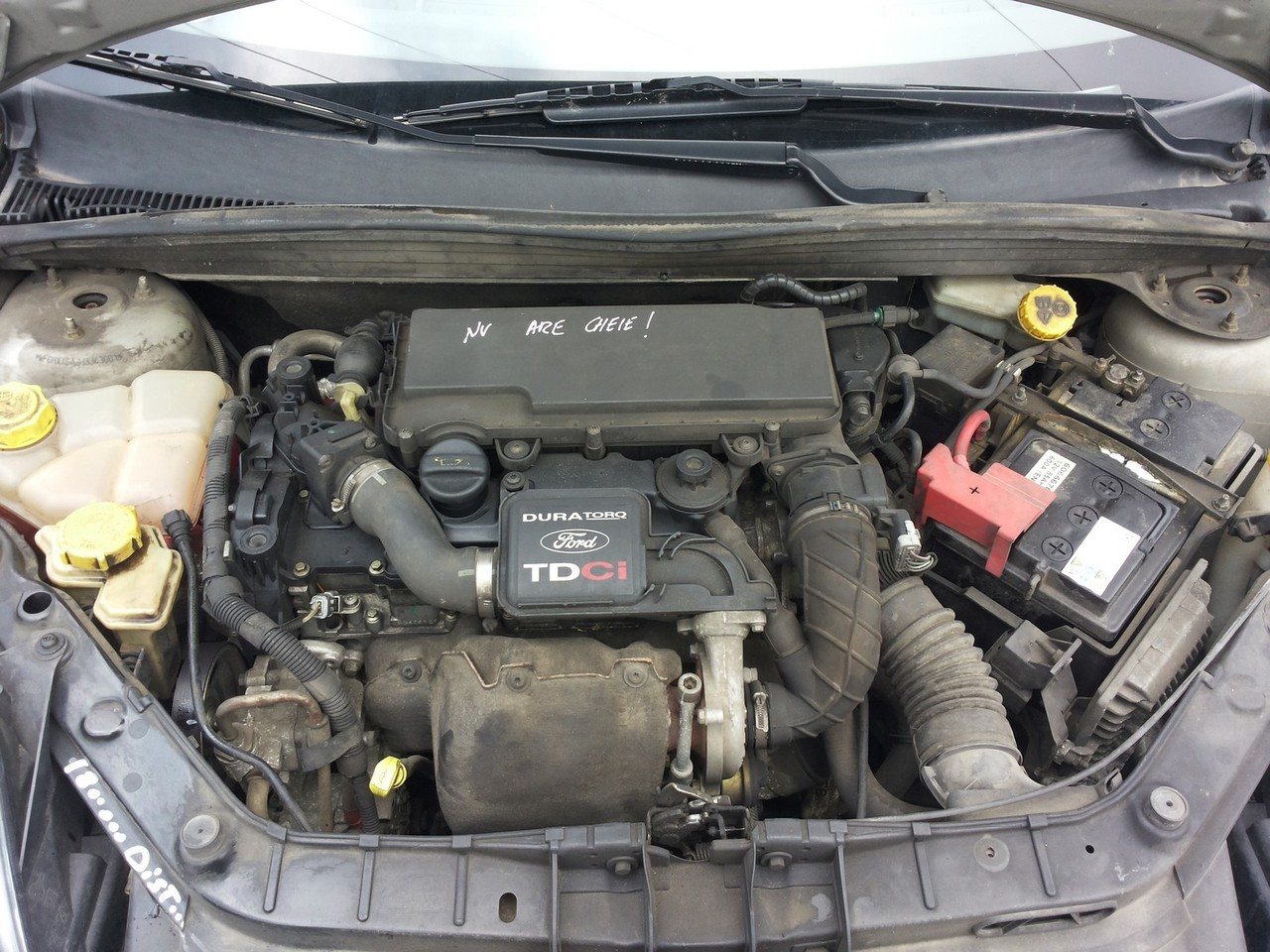 electroventilator cu suport Ford Fiesta V 1.4tdci an fabricatie 2002 2003 2004 2005 2006 2007 2008
