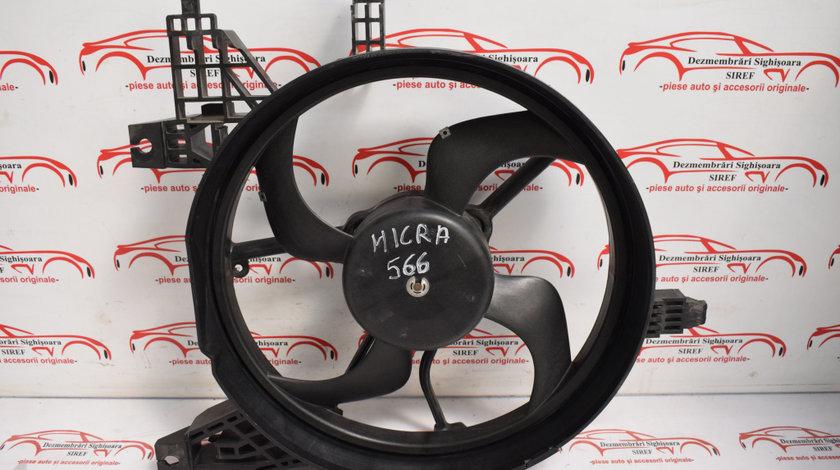 Electroventilator Nissan Micra 1.2 B 48 KW k12 566