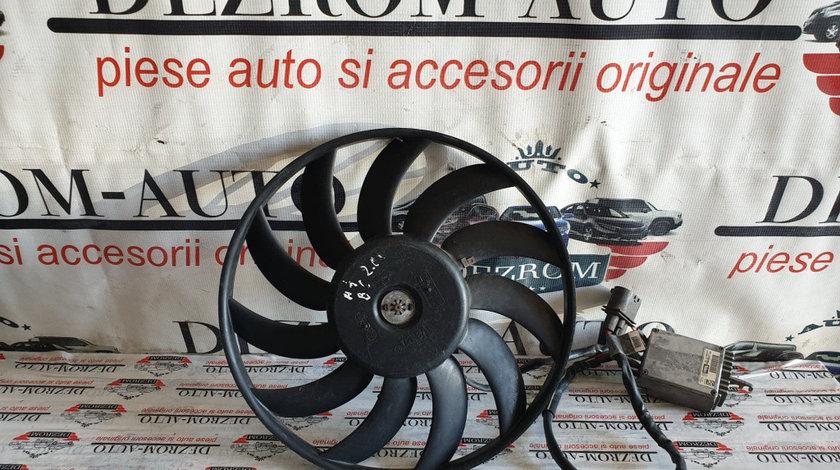 Electroventilator original Valeo Audi A4 B6 1.6i 102 cai cod piesa : 869202QB / 8E0121205