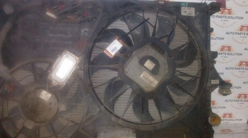 Electroventilator radiator 3.0 TDI AUDI Q7 2006-2010