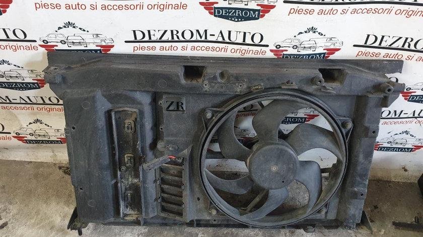 Electroventilator + trager Citroen C4 1.6i cod piesa : 9634009380